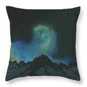 The Eye Of The Star Throw Pillow