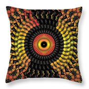 The Eye Of The Storm- Throw Pillow