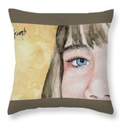 The Eyes Have It - Bryanna Throw Pillow