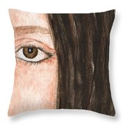 The Eyes Have It- Katelyn Throw Pillow