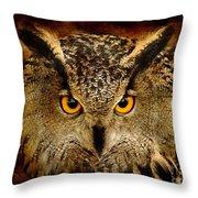 The Eyes Throw Pillow