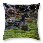 The Emerald Aisle Throw Pillow