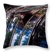 The Face Of Pontiac Throw Pillow