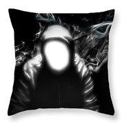 The Faceless Man Throw Pillow