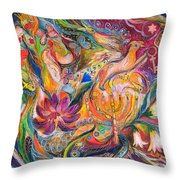 The Fairytale Throw Pillow