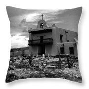 The Faithful Of San Ildefonso Throw Pillow