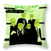 The Fall - Live 1979 Throw Pillow