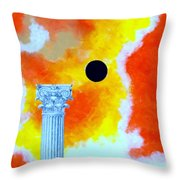 The Fall Of Rome Throw Pillow