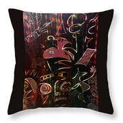 The Fallen Few Throw Pillow