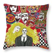 The Family Throw Pillow