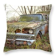 The Family Ford Throw Pillow