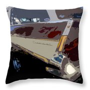 The Family Wagon Throw Pillow