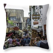 The Famous Drosselgasse Throw Pillow