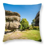 The Famous Idol Rock Throw Pillow