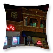 The Famous Sun Records Studio Throw Pillow