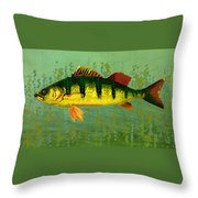 The Fanciful Limon Barb Throw Pillow