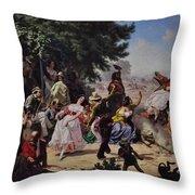 The Fandango Throw Pillow