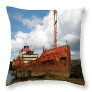 The Fate Of Poor Pibroch Throw Pillow