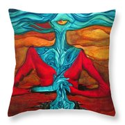 The Feast Throw Pillow