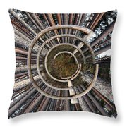 The Fence 1 Throw Pillow