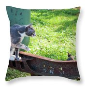 The Ferals-1424 Throw Pillow
