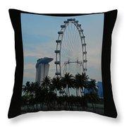 The Ferris Wheel 3 Throw Pillow