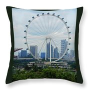 The Ferris Wheel 6 Throw Pillow