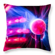 The Field Is Real Throw Pillow