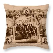 The Fifteenth Amendment And Its Results Throw Pillow