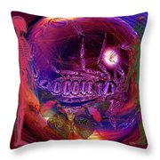 Solar Life Senergy Throw Pillow