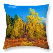 The Fight To Be Green Throw Pillow