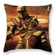 The Final Battle Throw Pillow