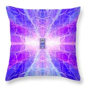 The Final Door  Throw Pillow