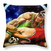 The Final Fight Throw Pillow