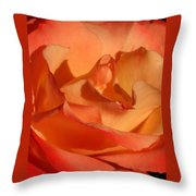 The Final Rose Of Summer Throw Pillow