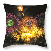 The Finale Throw Pillow