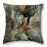 The Fine Line Throw Pillow