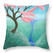 The Finer Things In Life Throw Pillow