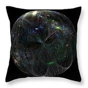 The Finite Universe Throw Pillow