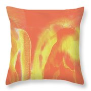 The Fire Throw Pillow