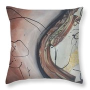 The Fire Inside Throw Pillow