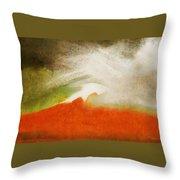 The Fire Mountain - Cotapaxi Throw Pillow
