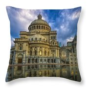 The First Church Of Christ Scientist Throw Pillow