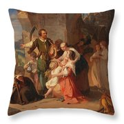 The First Harvest After The Thirty Years' War Throw Pillow