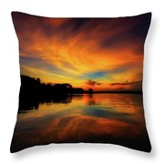 The First Night Throw Pillow
