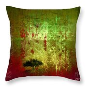 The First Tree Throw Pillow