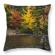 The Fish Are Still Biting Throw Pillow