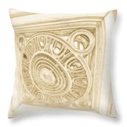 The Fish Eye Throw Pillow