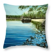 The Fisherman Throw Pillow