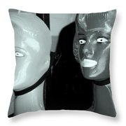 The Fixed Glance Throw Pillow